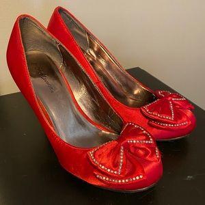 Red Ruby Slipper Vintage Heels